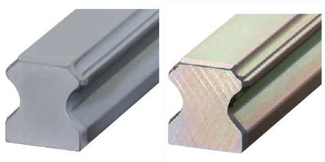 Coating of linear guideway