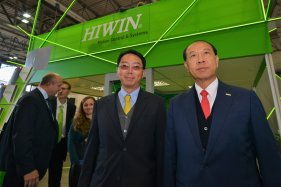 General manager and CEO of HIWIN Technologies visiting Brno International Engineering Fair 2017