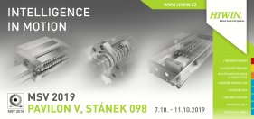 Come and see us at MSV Brno 2019